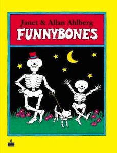 Funnybones! I used to have a card game that went with this book.