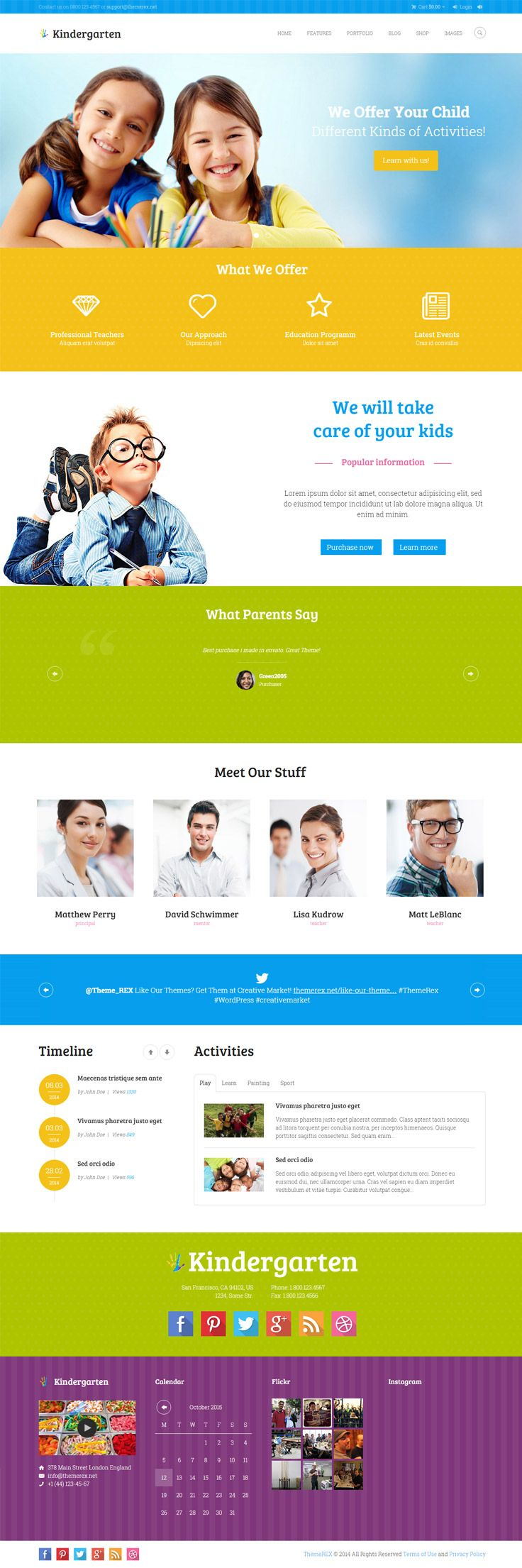 For the development of any type of websites including #educational websites for universities, colleges, high schools or educational institutes, WordPress is the best option available in the market. This basically is due to the free availability of the Premium #WordPress #themes online.