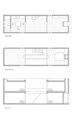 12 best images about azuma house tadao ando on pinterest for Row house dimensions