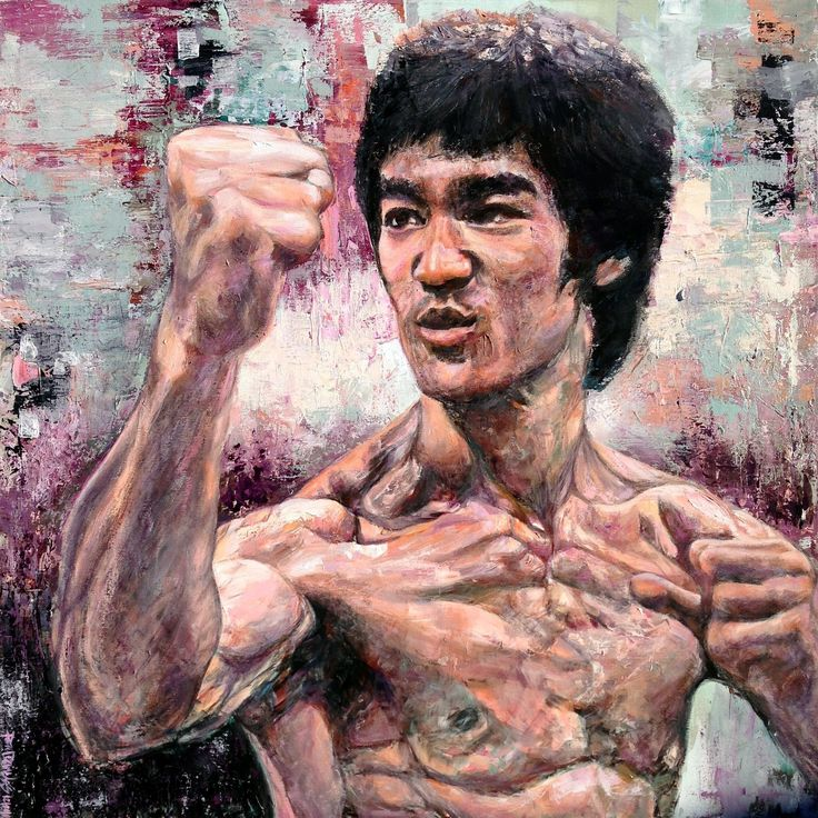 Bruce Lee, that face, when the opponent is gonna get their ass kicked.