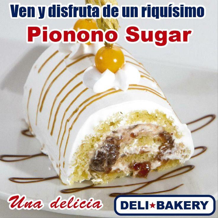 Tenemos nuestro delicioso Pionono Sugar, ideal a cualquier hora del día. Encuéntralo en todos nuestros locales y deléitate del verdadero sabor!