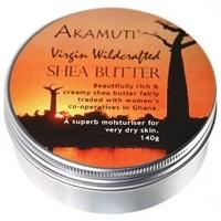Nerafinirano karitejevo maslo za telo Akamuti, Shea Butter, 140 g