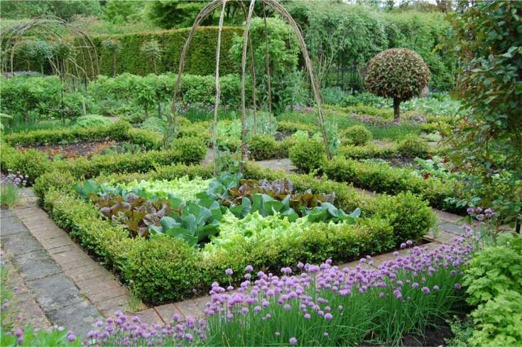 3834 best images about food garden on pinterest raised for Pretty vegetable garden designs