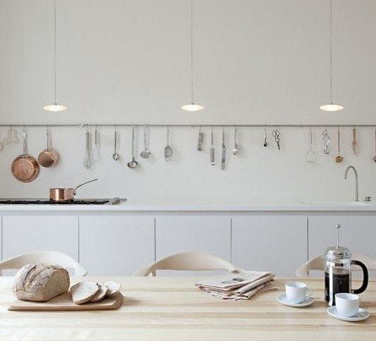 simple, functional kitchen