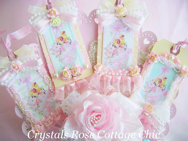 35 best shabby vintage romantic easter images on pinterest shabby shabby chic easter tags negle Choice Image