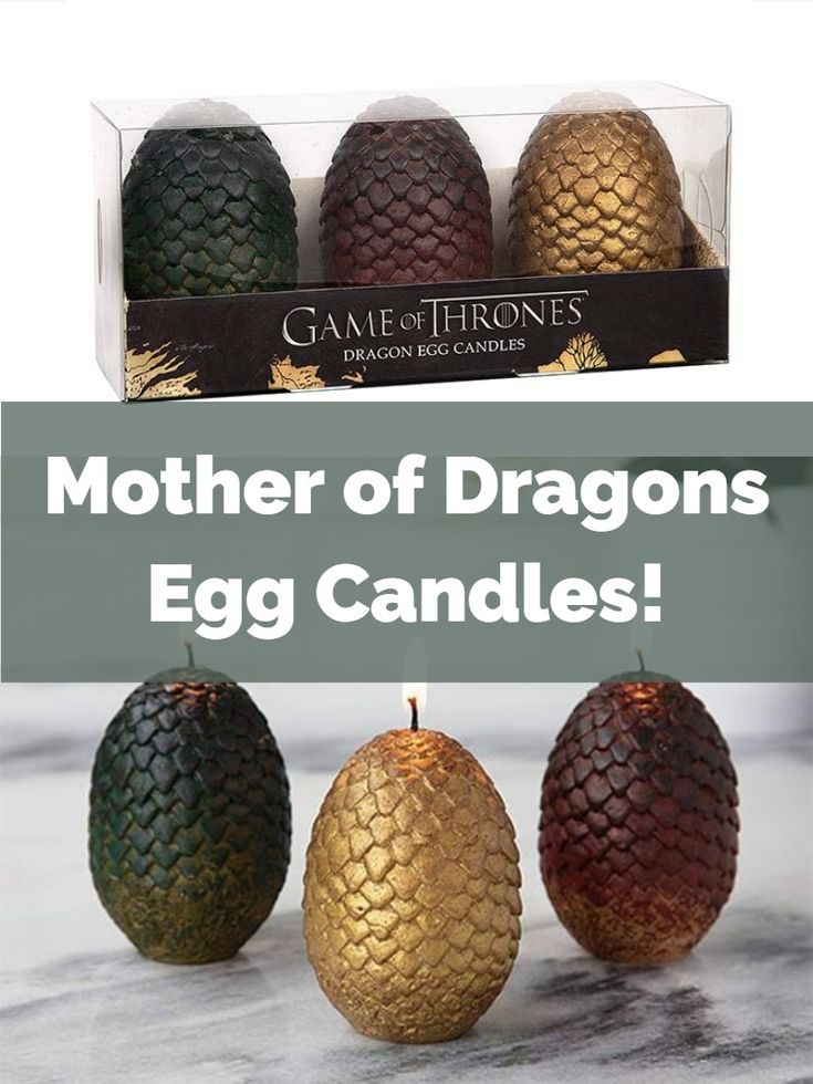 dragon egg candles - if its hip, its here