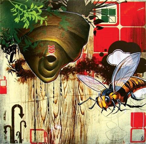 Art Attacks Online » Blaine Fontana
