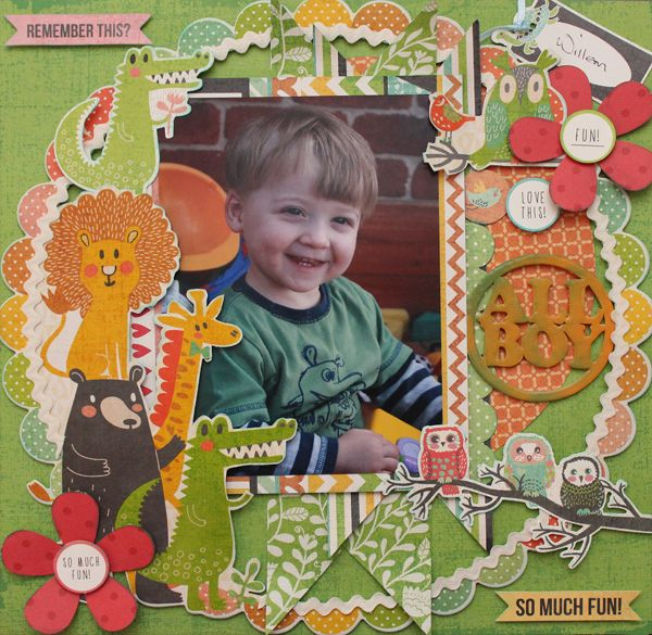 Grins and Giggles side1 Designed by Carol Barron www.paperroses.com.au