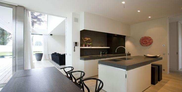stijl keuken, veel licht, leefkeuken