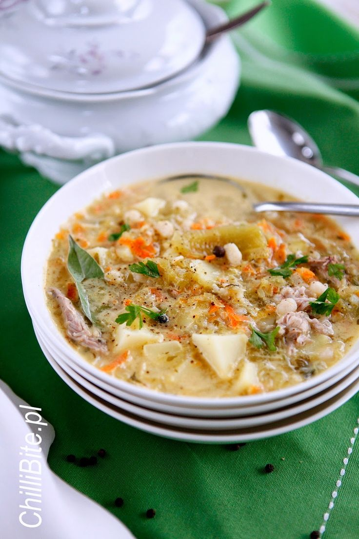 ChilliBite.pl - motywuje do gotowania!: Najlepsza zupa ogórkowa