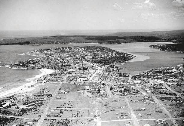 Cronulla in southern Sydney in 1938.