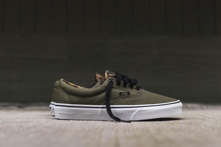 "Vans Era ""Ivy Green & Camo"" - EU Kicks Sneaker Magazine"