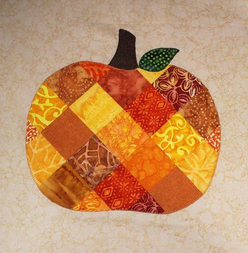 Patchwork Pumpkin Table Runner: Work In Progress » Notions