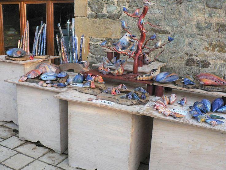 """""""Olivier Gosselink"""" workshop (France). 2015 Argilla. Aubagne. France. International pottery fair. Music instruments. Earthenware"""