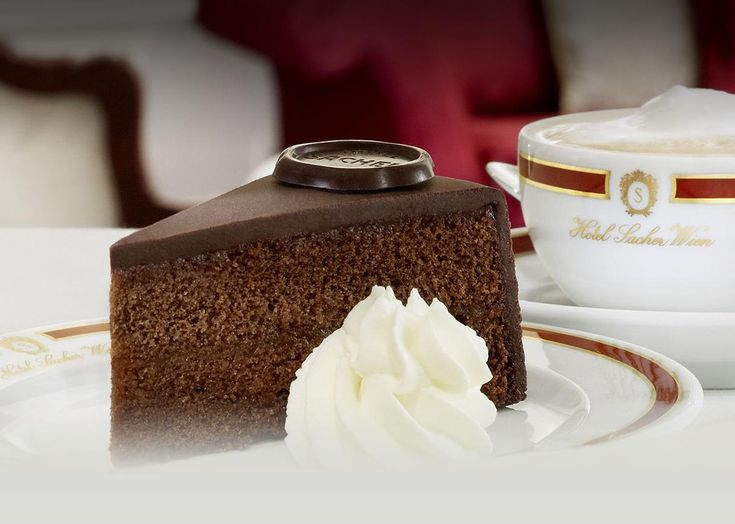 Piece of Vienna The Original Sacher-Torte has been the most famous ...