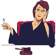 Woman Thinking at Desk Animation
