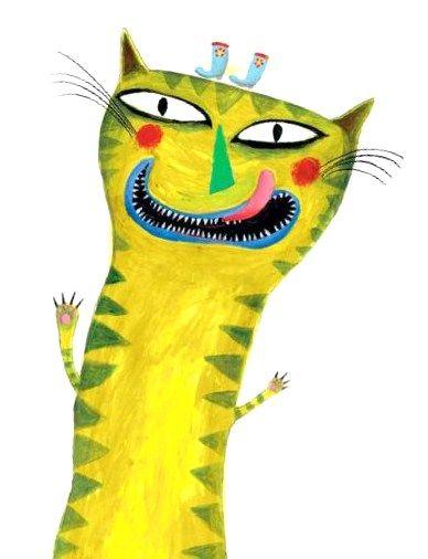 tengo hambreeeee!, ilustración de Lillian Brogger