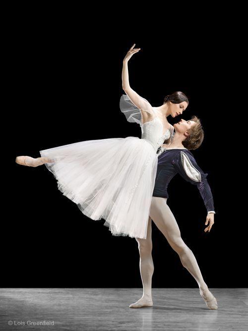"<<Happy Birthday Irina! # Irina Dvorovenko (American Ballet Theatre) was born on October 28, 1971 in Kiev, Ukraine # Irina Dvorovenko and Maxim Belotserkovsky, ""Giselle"", American Ballet Theatre # Photo © Lois Greenfield / 2006>>"