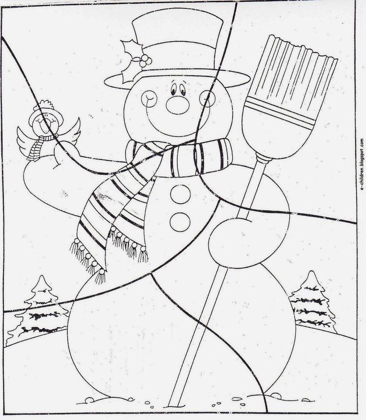 Αυτή η εβδομάδα τελείωσε με τον αγαπημένο, μικρών αλλά και μεγάλων,χιονάνθρωπο.   Είδαμε εικόνες από φτιαγμένους χιονάνθρωπους αλ...