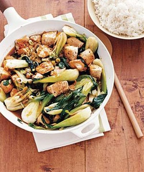 Chicken and Bok Choy Stir-Fry | Recipes | Pinterest