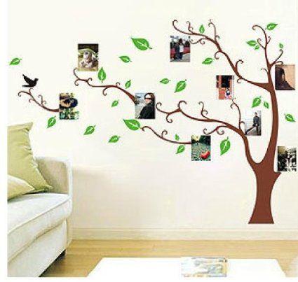 9 besten Bäume Bilder auf Pinterest Baum wandtattoo, Foto baum - wandtattoo wohnzimmer grun