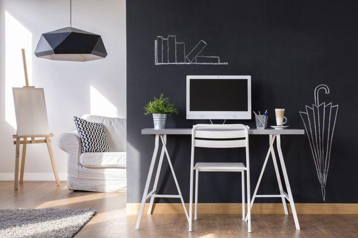 3 passos simples para fazer uma parede de lousa em casa