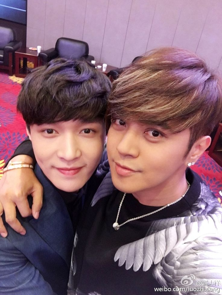 Yixing and Show Luo. I just watched The Mermaids and Show Luo was an octopus lol whyyy