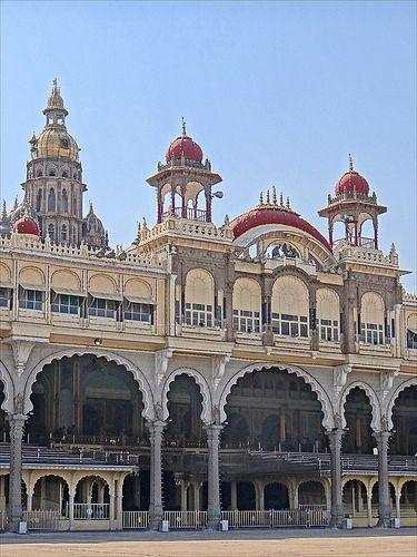 Maharaja's Palace . Mysore