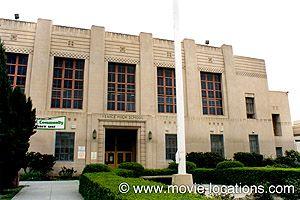 Grease film location: Venice High School, 13000 Venice Boulevard, Los Angeles