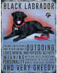 Black Labrador Hanging Metal Sign                                                                                                                                                                                 More