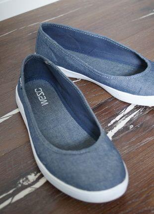 Kaufe meinen Artikel bei #Kleiderkreisel http://www.kleiderkreisel.de/damenschuhe/ballerinas/114751856-ballerinas-im-jeanslook