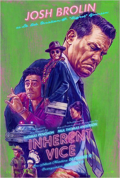 Inherent Vice : des visuels psychédéliques pour le dernier Paul Thomas Anderson