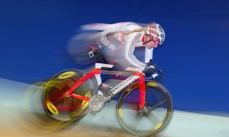 Katy Marchant, a former heptathlete, was surprised to win four national titles and heads to the European Track Cycling Championships still learning