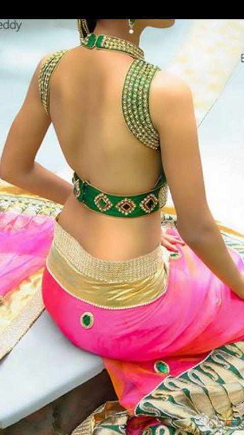 Indian Sari Blouse.