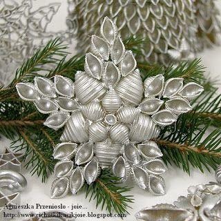 Decorare l'albero di Natale con la pasta! Video tutorial idea n° 4, 11, 16 e 20! Lasciatevi ispirare…