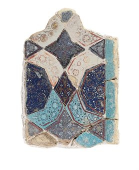 Iran, 14th century. #tile.