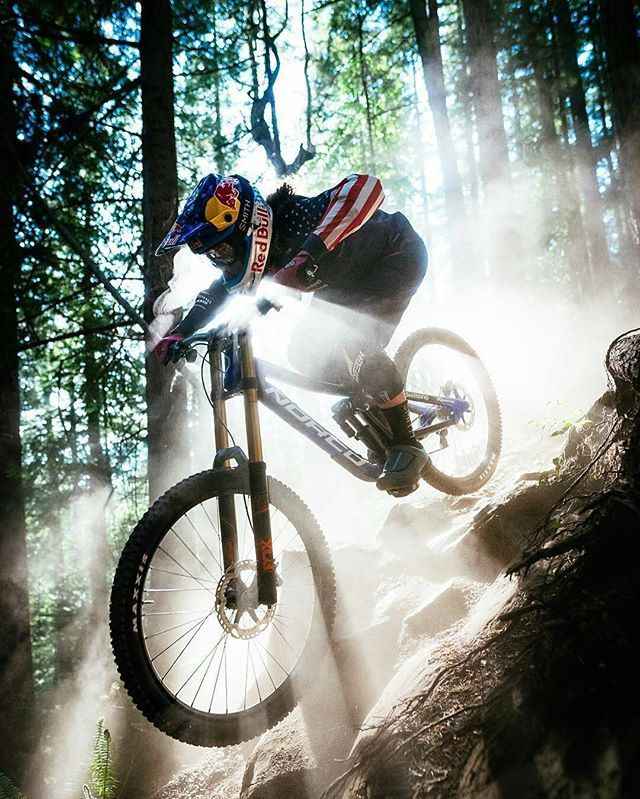 Norco riders @jillkintner and @brynatkinson will be hanging and signing posters…