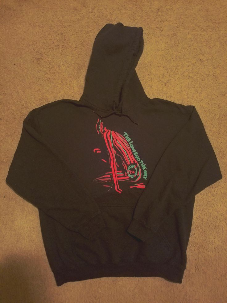 "ATCQ - ""The Low End Theory"" hoodie scored at the local Goodwill for only two dollars  http://ift.tt/2f1AJEa"