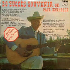My Paul Brunelle Western Album. Get this ! It is the best album by Paul Brunelle. I have this album.