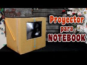 Como hacer un proyector casero para notebook                                                                                                                                                                                 Más Work Opportunities, Woodworking, Deco, Building, Youtube, Ideas, Handmade Crafts, Opaque Projector, Homemade Projector