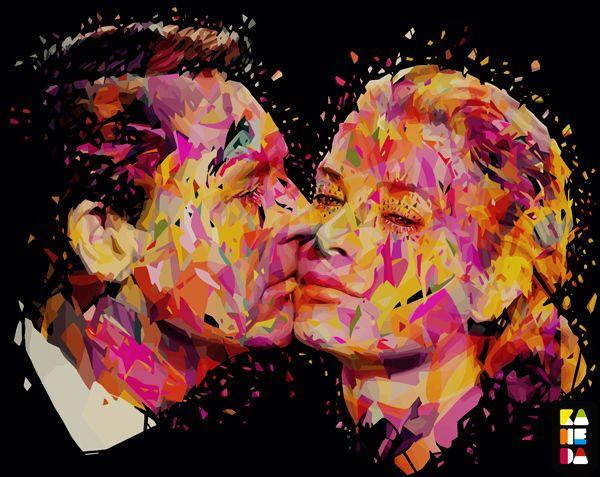 Colorful Pop Art Illustrations by Alessandro Pautasso http://www.twentyfive-seven.com/ http://nosurprises.it/ #TwentyfiveSeven