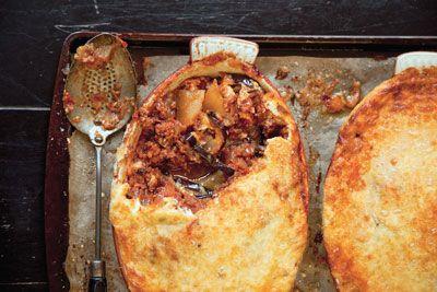 Lamb Moussaka (Greek Lamb, Potato, And Eggplant Casserole) Recipes ...