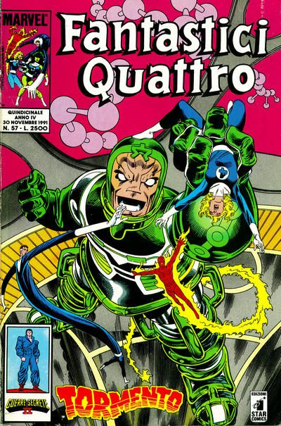 Cover for Fantastici Quattro (Edizioni Star Comics, 1988 series) #57
