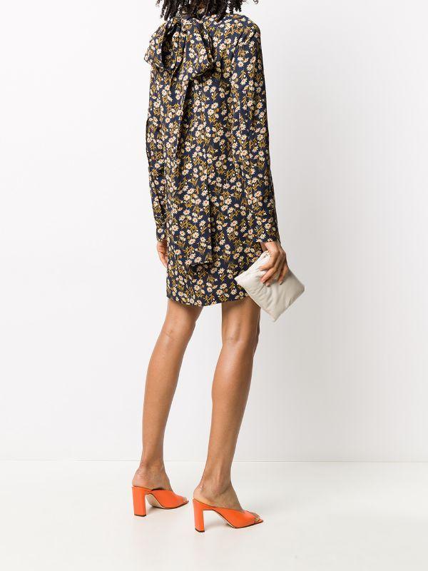 Nº21 فستان معتدل المقاس بطبعة زهور Farfetch Printed Shift Dress Shift Dress Floral Prints