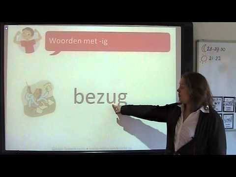 Spelling: woorden met -ig