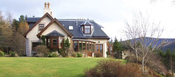 Exklusives Ferienhaus Schottland - Claybokie Lodge