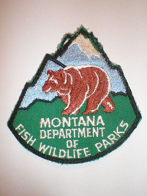 67 best images about wildlife agency patches on pinterest for Mt fish wildlife and parks