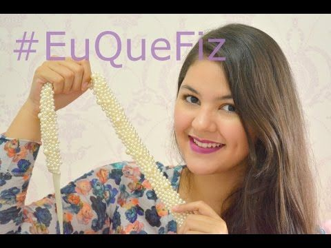 DIY - Cinto de Pérolas - YouTube