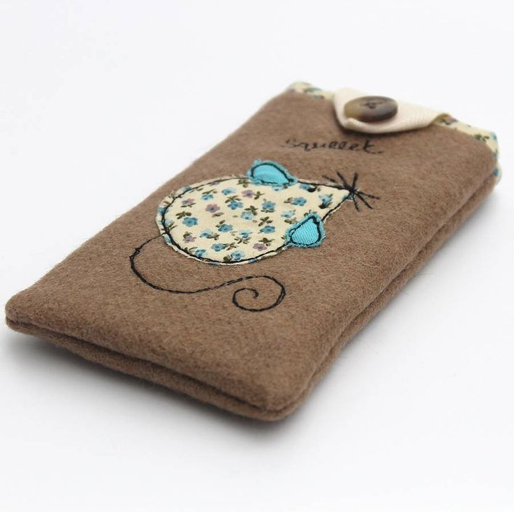 Mouse mobile phone case by Honeypips