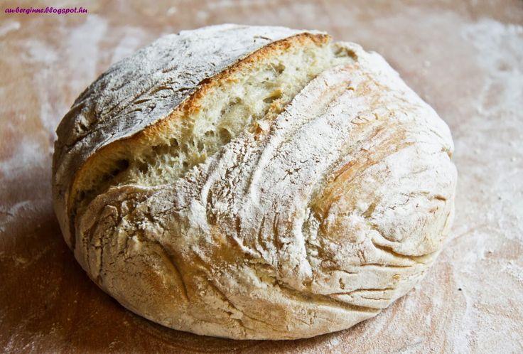 No kneading bread / Dagasztás nélküli kenyér